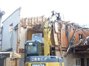 木造解体工事