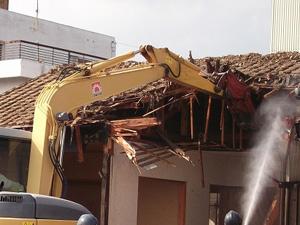 木造平屋 解体