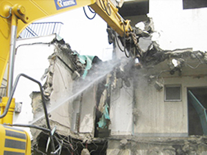 建物解体に掛かる日数