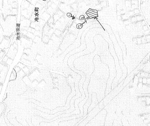 家屋解体 地図参考