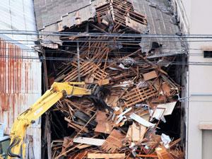 古い木造 解体