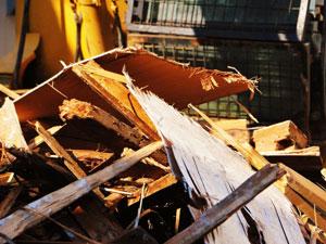 空き家の解体の施工実績