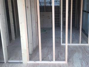 内部スケルトン工事の解体工事の施工実績