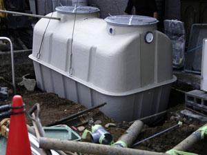 浄化槽の解体も可能!