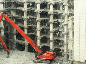 高層ビルの解体もお任せ