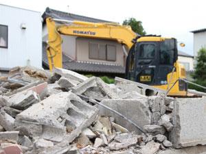 物置、ブロック塀の解体も可能