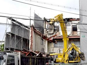 アパートの解体の流れ