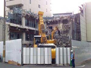 鹿児島 鉄骨造工場 解体工事