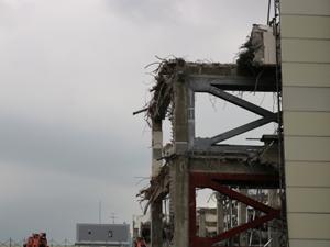 鹿児島 アスベストの多い工場 解体工事