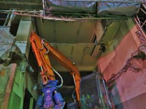 商業施設の解体工事について