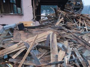 九州豪雨 家屋解体撤去