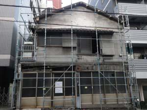木造2階建て家屋 解体